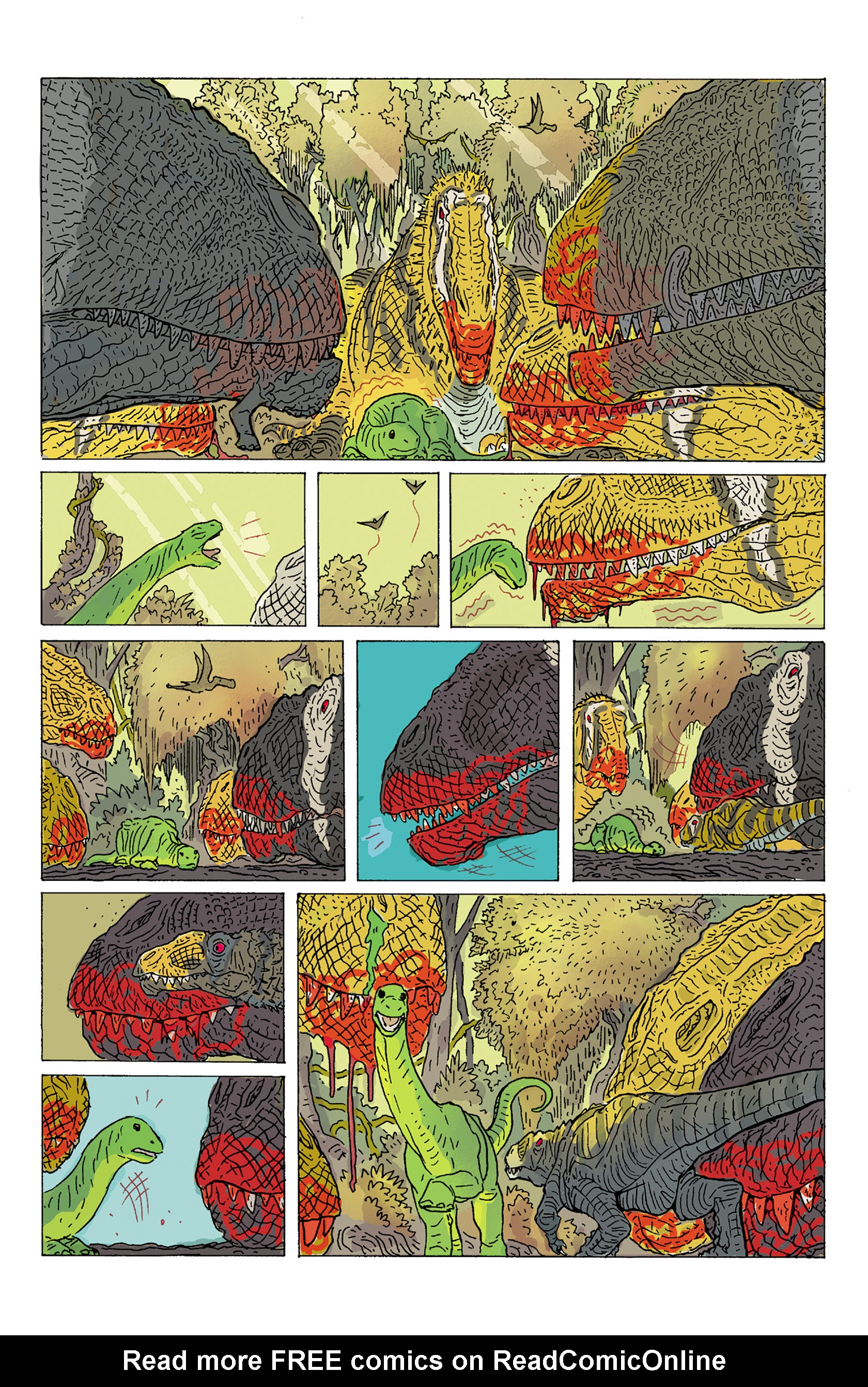 Read online Age of Reptiles: Ancient Egyptians comic -  Issue #2 - 17