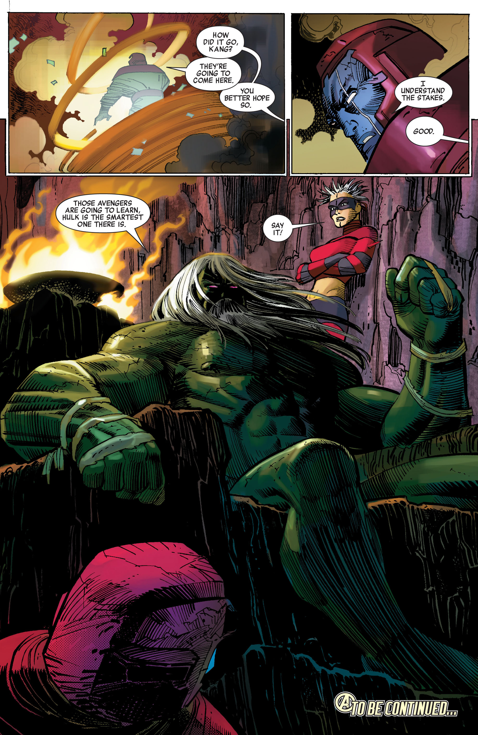 Read online Avengers (2010) comic -  Issue #1 - 22