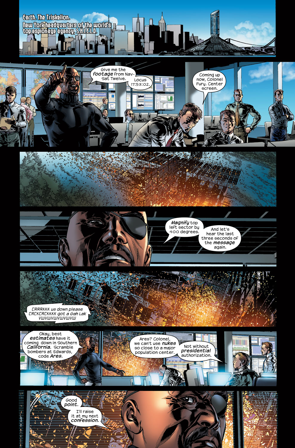Read online Ultimate Vision comic -  Issue #3 - 15