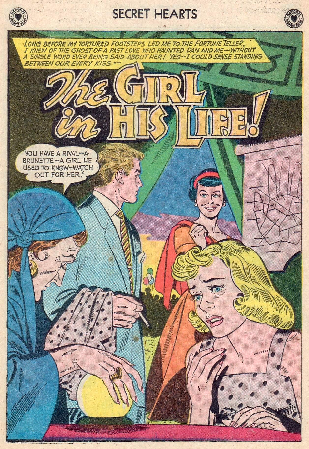 Read online Secret Hearts comic -  Issue #67 - 27