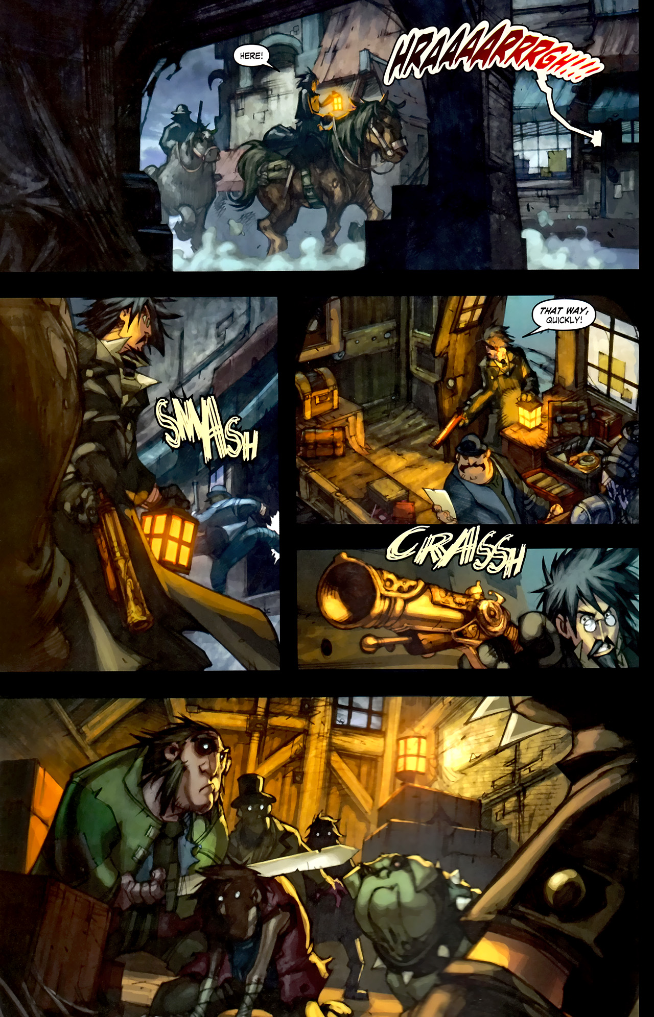 Read online World of Warcraft: Curse of the Worgen comic -  Issue #1 - 10