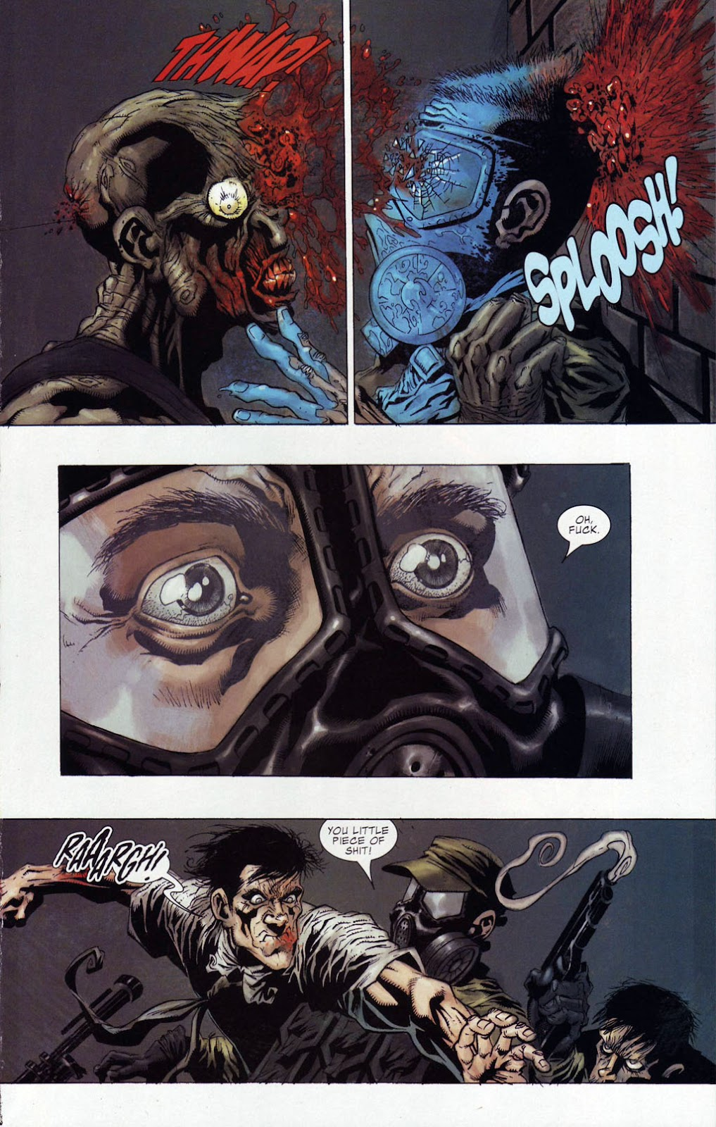 Read online Zombie (2006) comic -  Issue #4 - 13