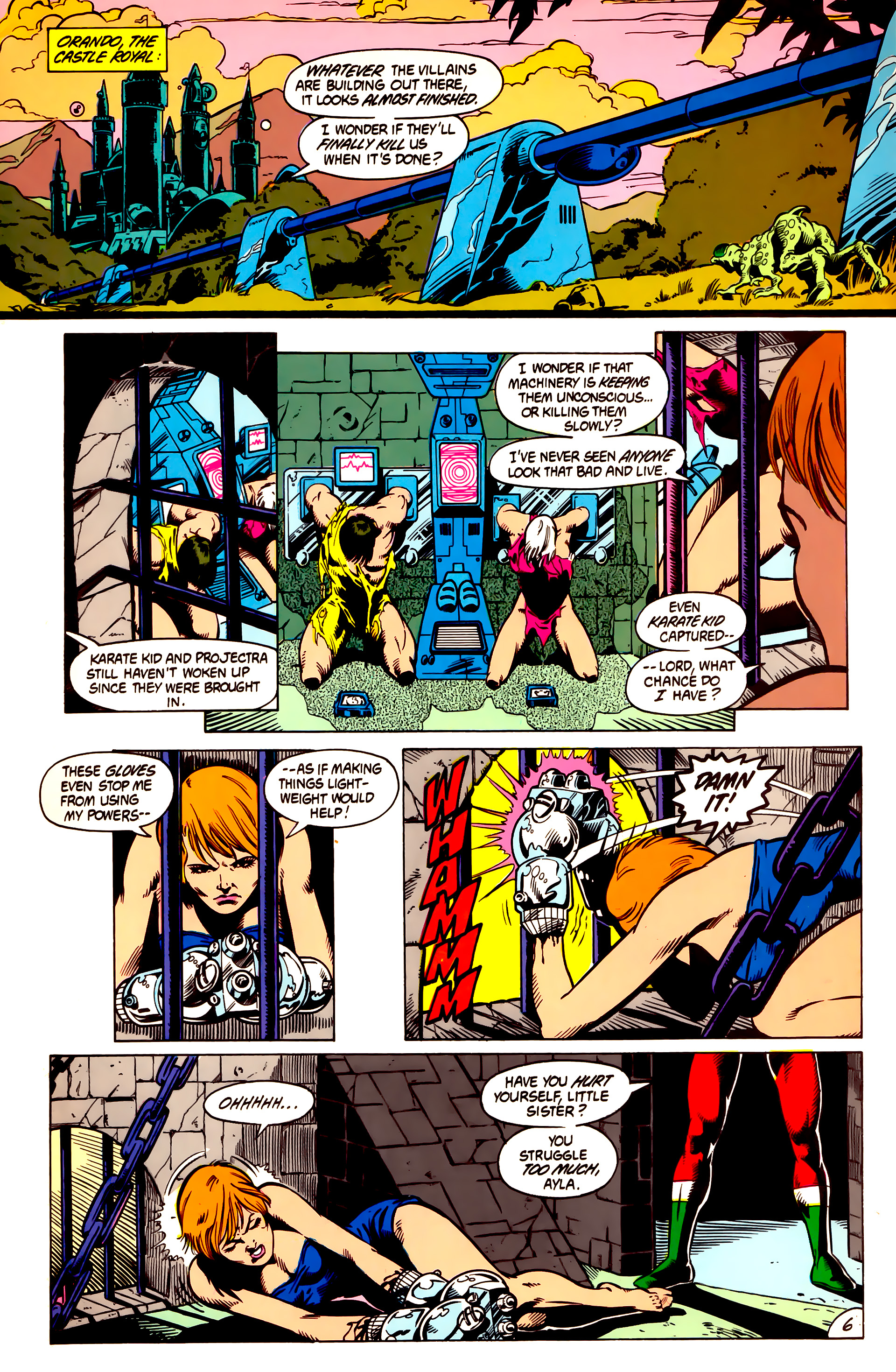 Legion of Super-Heroes (1984) 3 Page 7