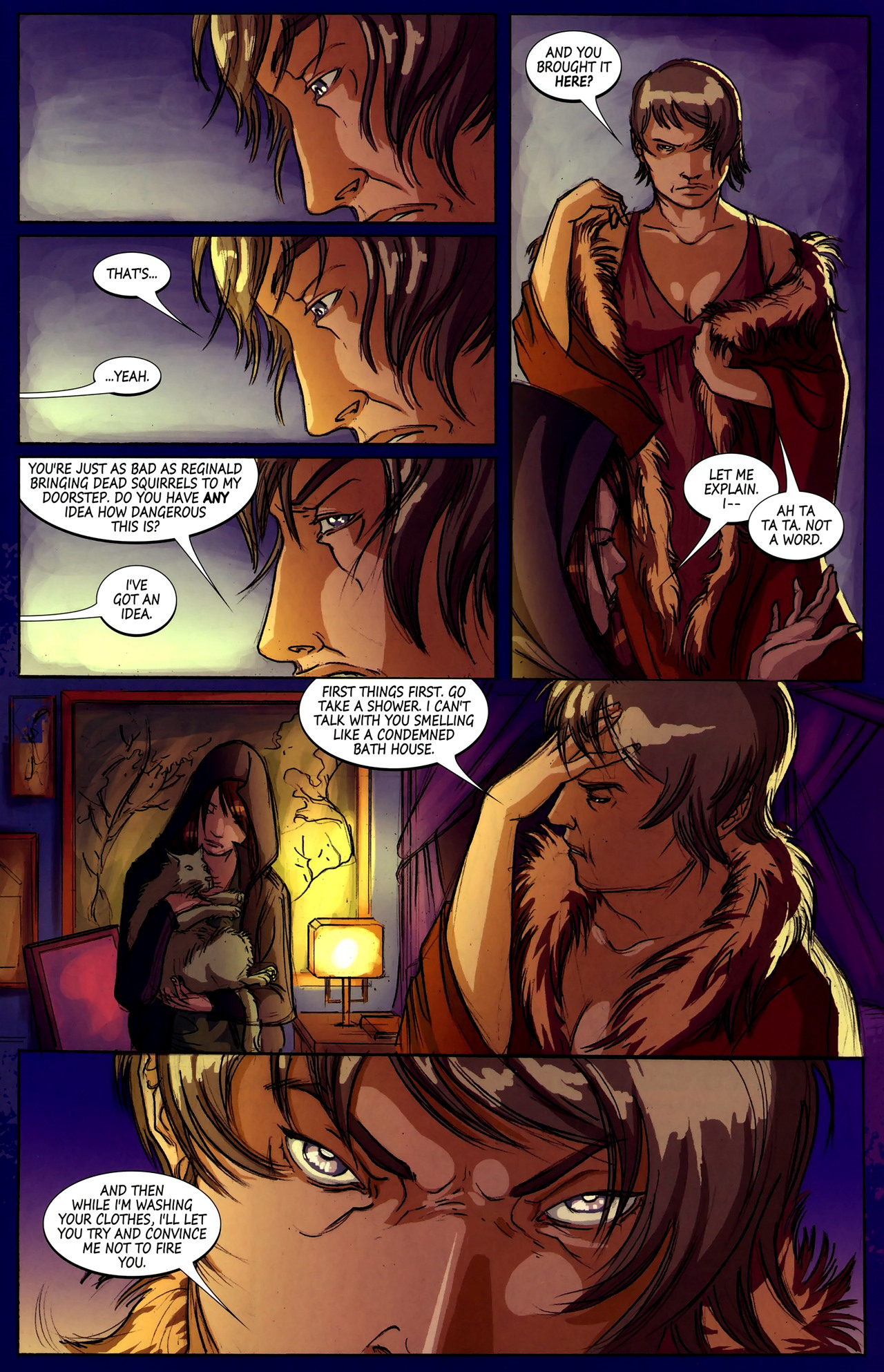 Read online Hexed comic -  Issue #2 - 14