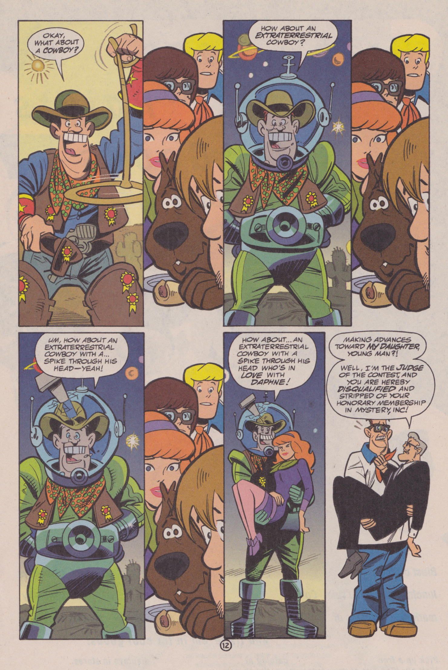 Read online Scooby-Doo (1997) comic -  Issue #10 - 13