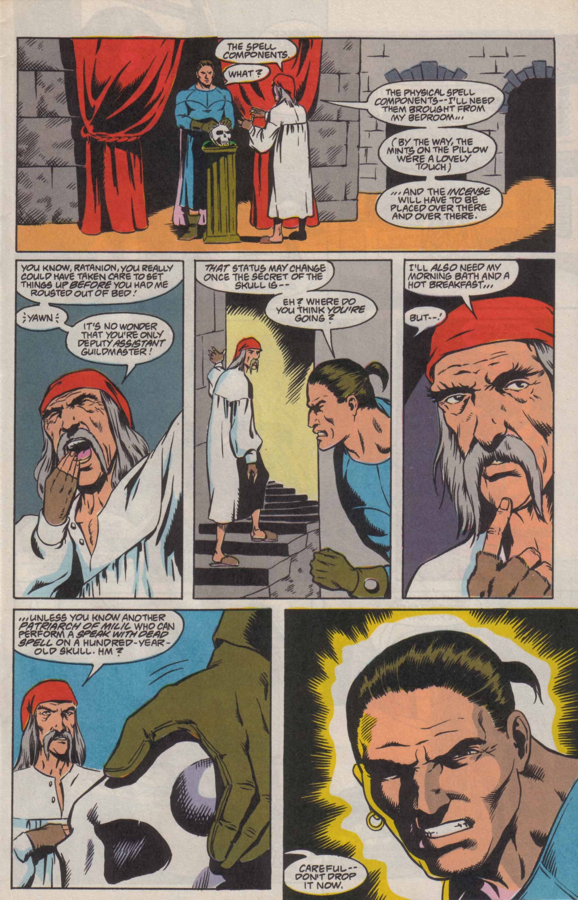 Read online Advanced Dungeons & Dragons comic -  Issue #8 - 6