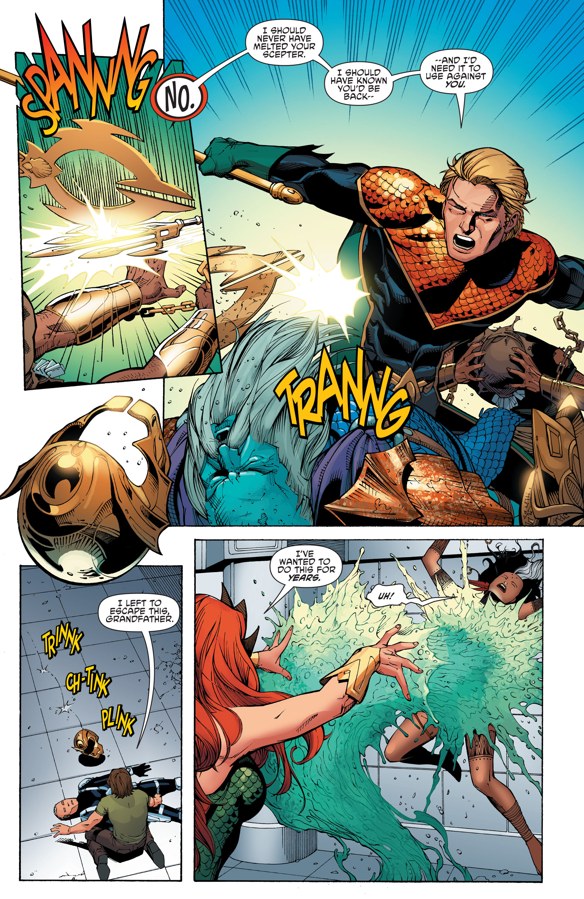 Read online Aquaman and the Others: Futures End comic -  Issue #Aquaman and the Others: Futures End Full - 16