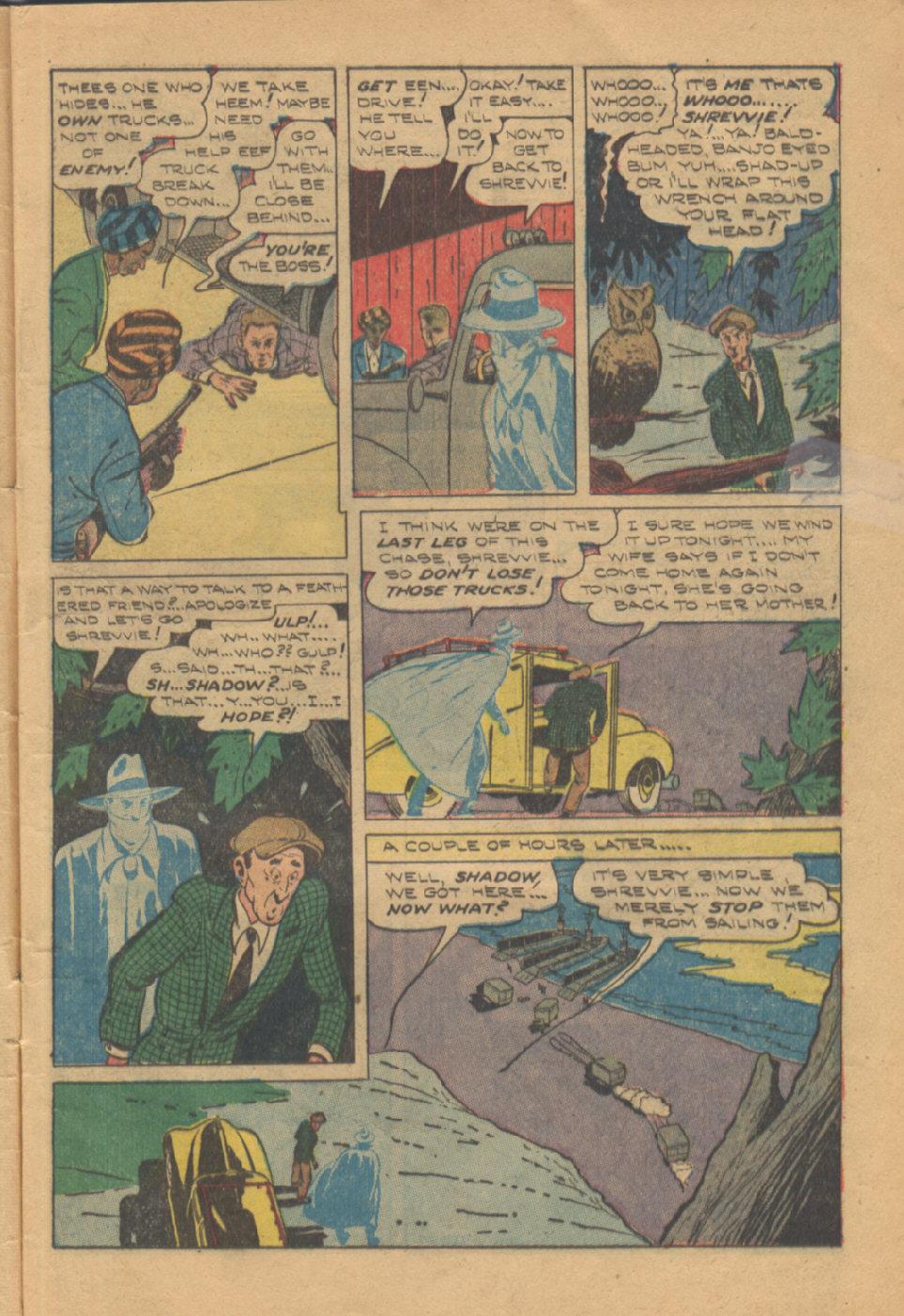 Read online Shadow Comics comic -  Issue #95 - 11