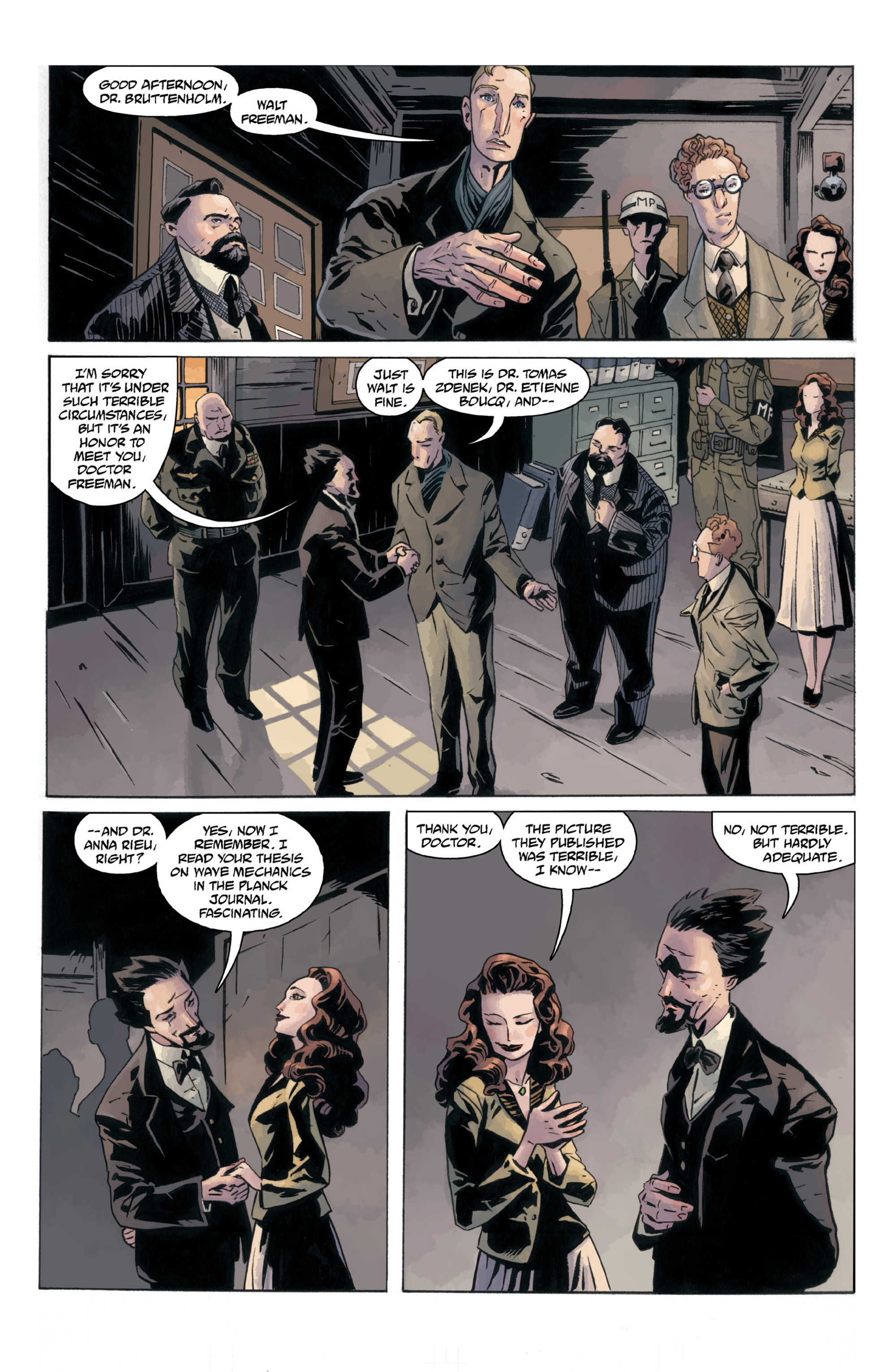 Read online B.P.R.D.: 1948 comic -  Issue # TPB - 26