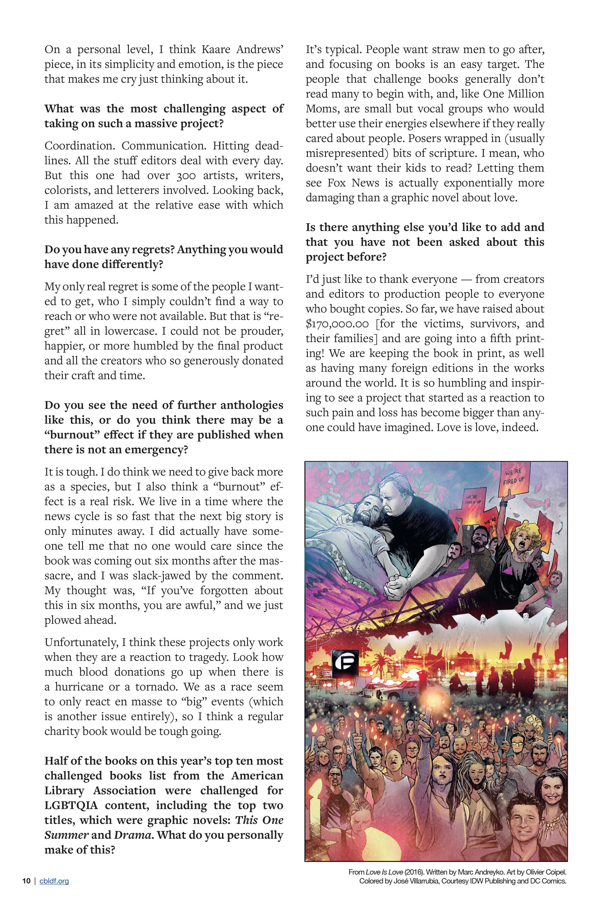 Read online CBLDF Defender Vol. 2 comic -  Issue #2 - 10