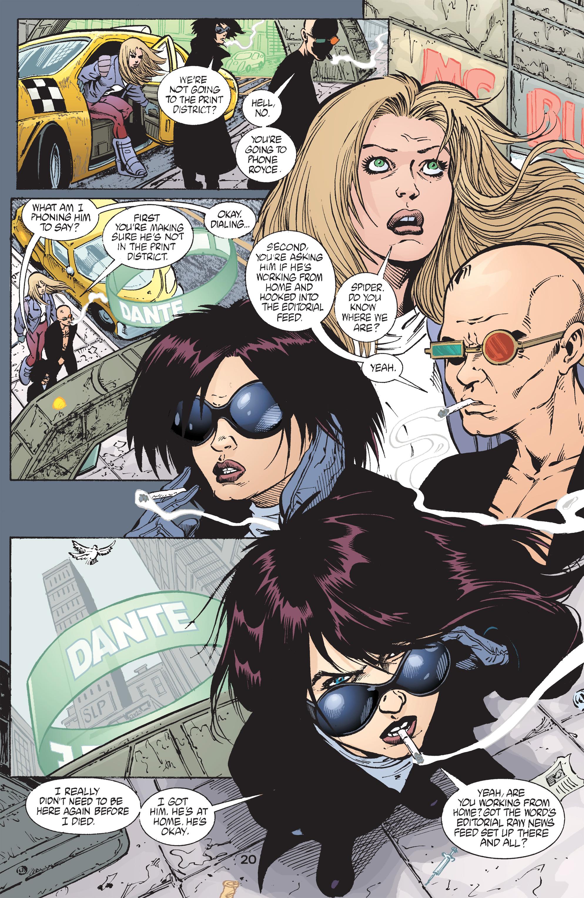 Read online Transmetropolitan comic -  Issue #43 - 21