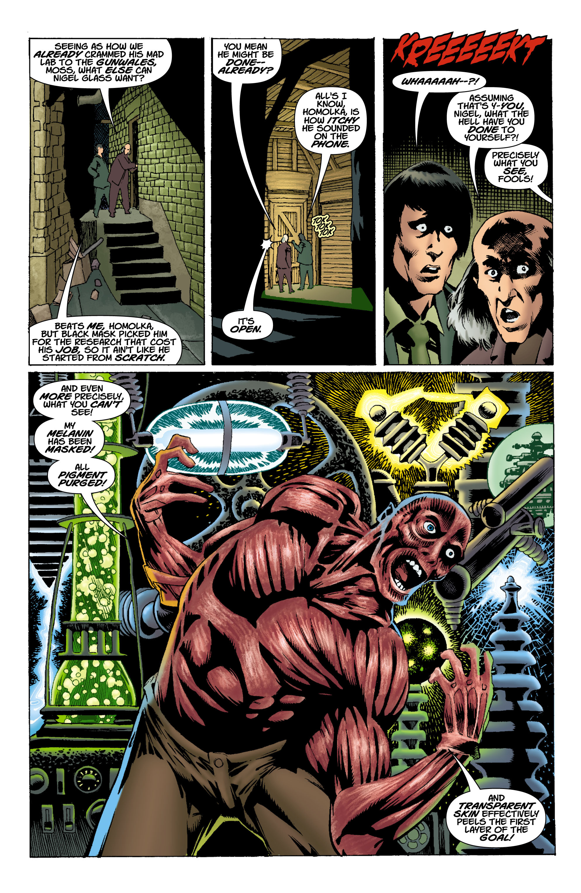 Read online Batman: Unseen comic -  Issue #1 - 10