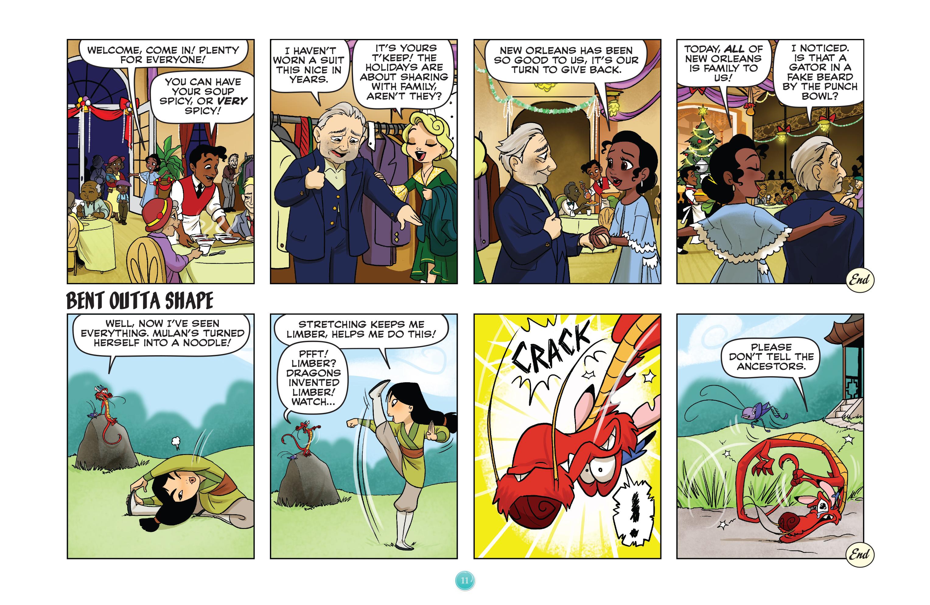 Read online Disney Princess comic -  Issue #8 - 11
