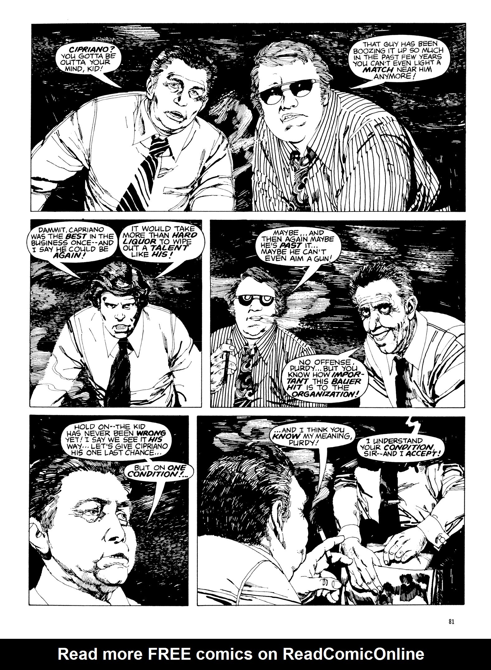 Read online Eerie Archives comic -  Issue # TPB 20 - 81