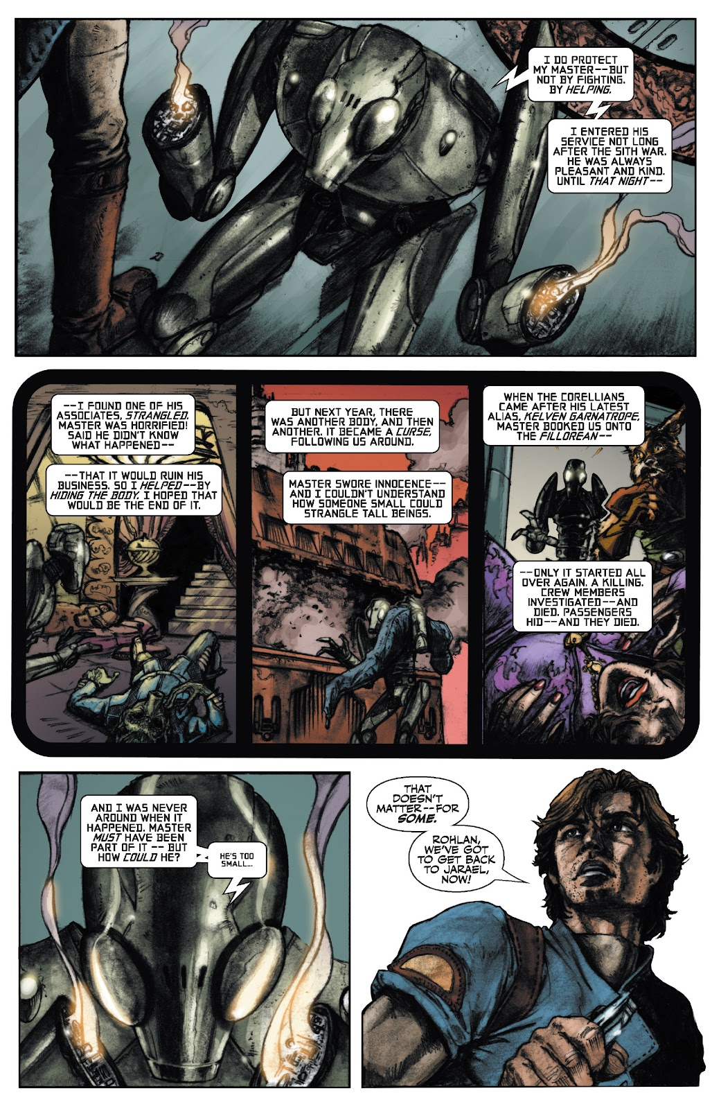 Read online Star Wars Legends: The Old Republic - Epic Collection comic -  Issue # TPB 3 (Part 1) - 22