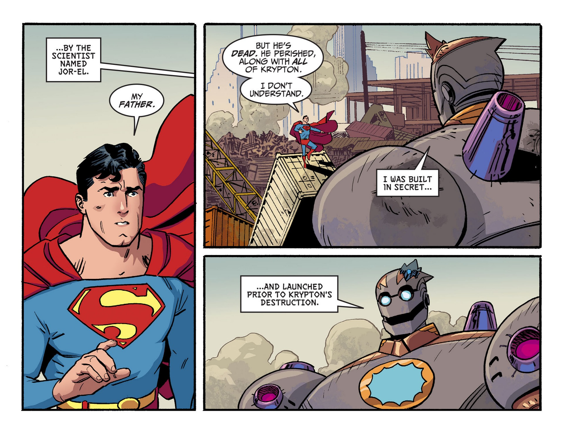 Read online Adventures of Superman [I] comic -  Issue #44 - 13