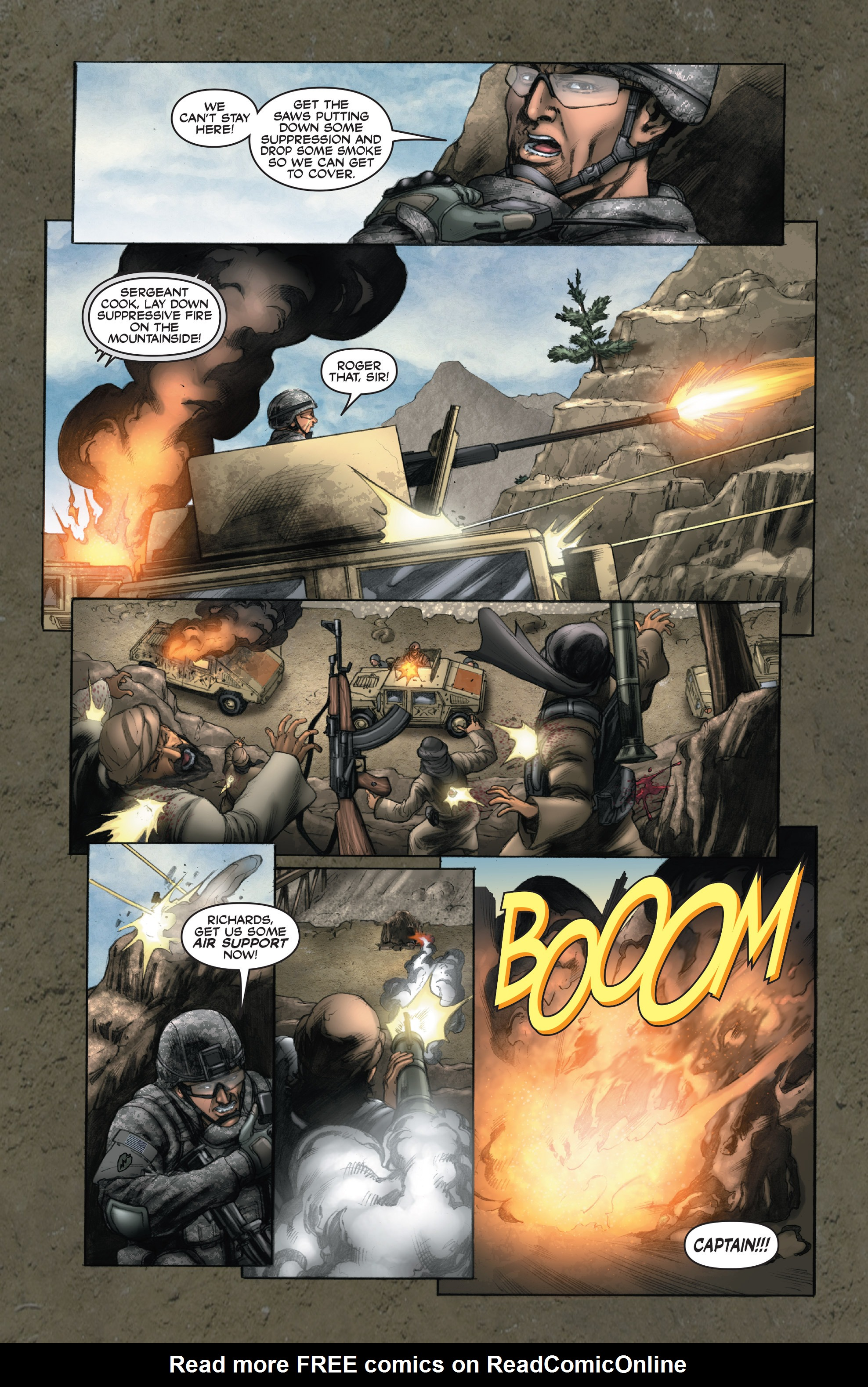 Read online America's Army comic -  Issue #14 - 14