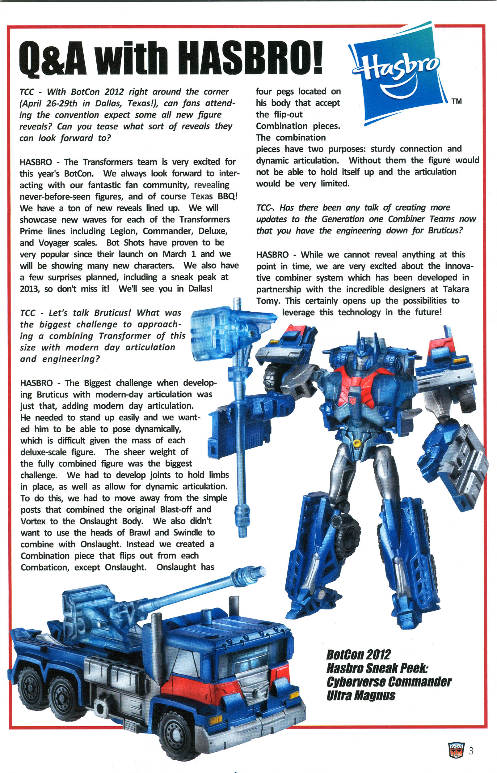 Read online Transformers: Collectors' Club comic -  Issue #44 - 3