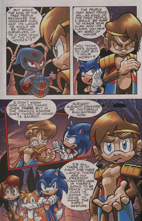 Read online Sonic Universe comic -  Issue #13 - 18