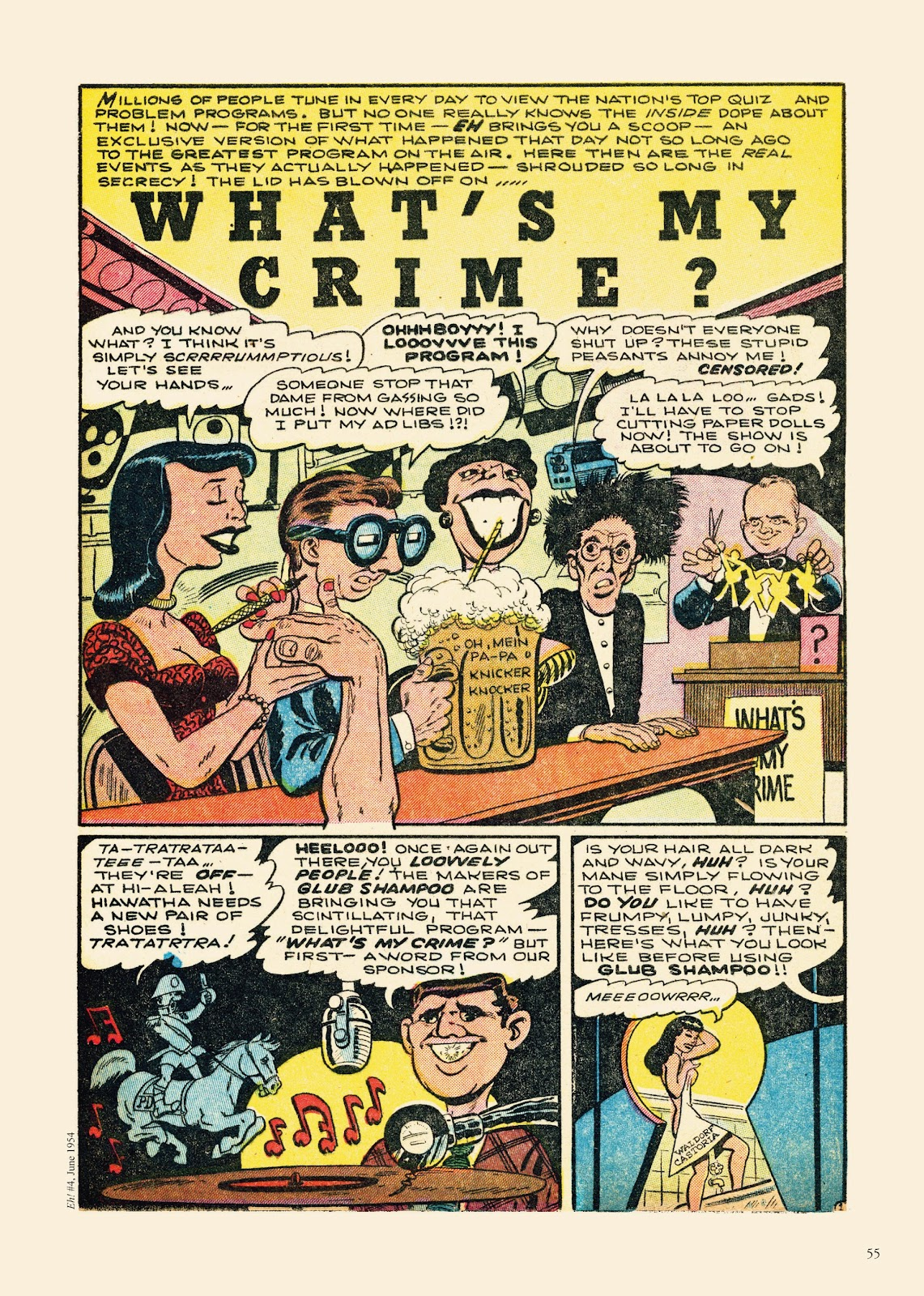 Read online Sincerest Form of Parody: The Best 1950s MAD-Inspired Satirical Comics comic -  Issue # TPB (Part 1) - 56