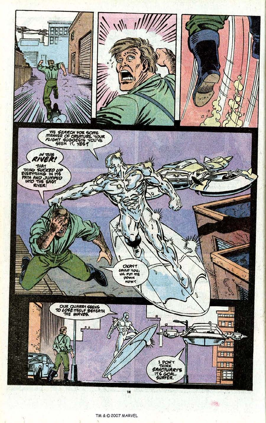 Read online Silver Surfer (1987) comic -  Issue # _Annual 3 - 16