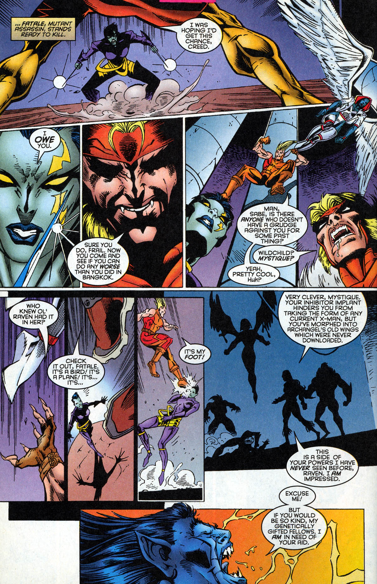 Read online X-Factor (1986) comic -  Issue #126 - 15
