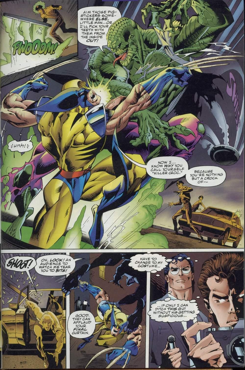 Read online DC Versus Marvel Comics comic -  Issue #2 - 5