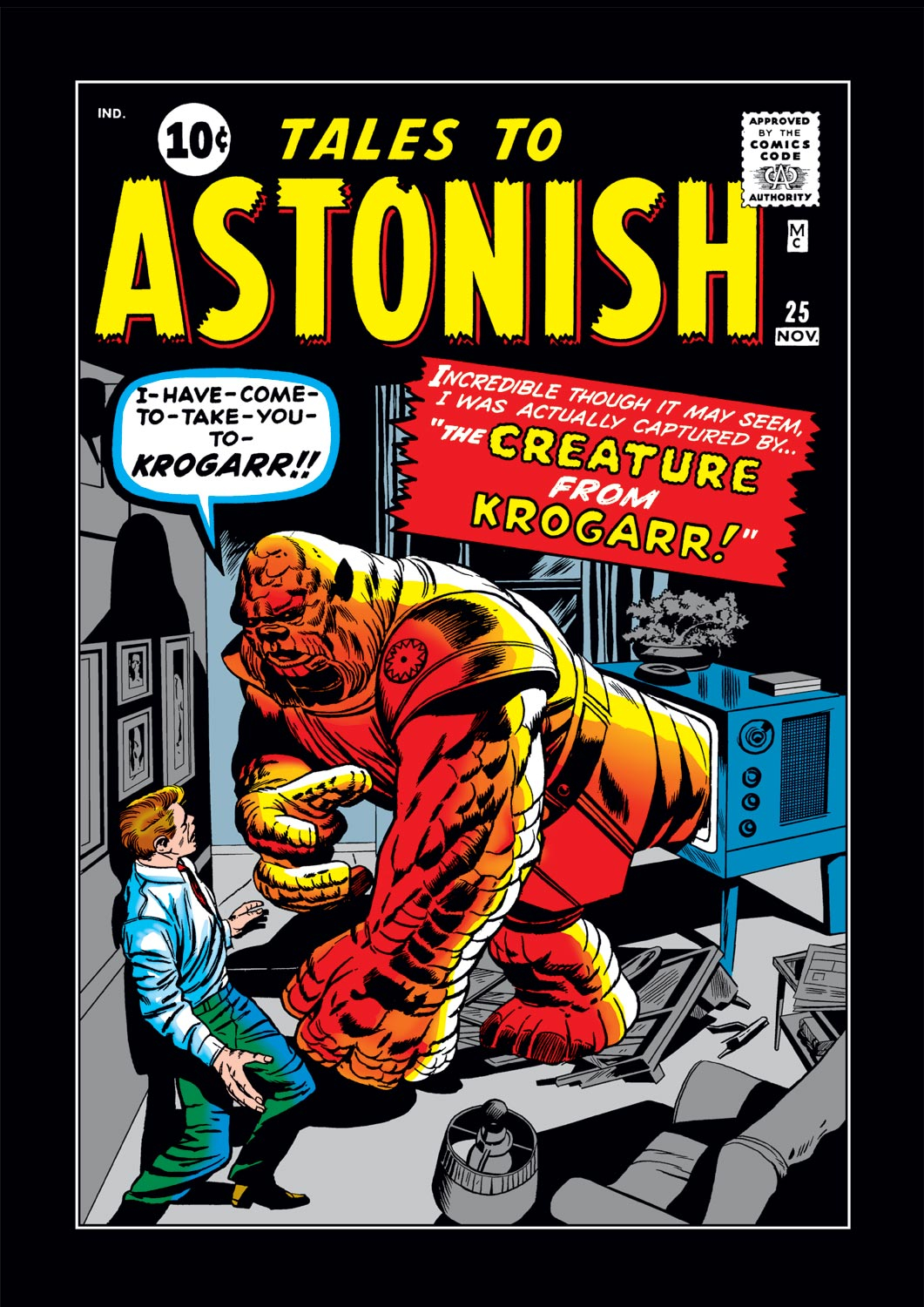 Tales to Astonish (1959) issue 25 - Page 1