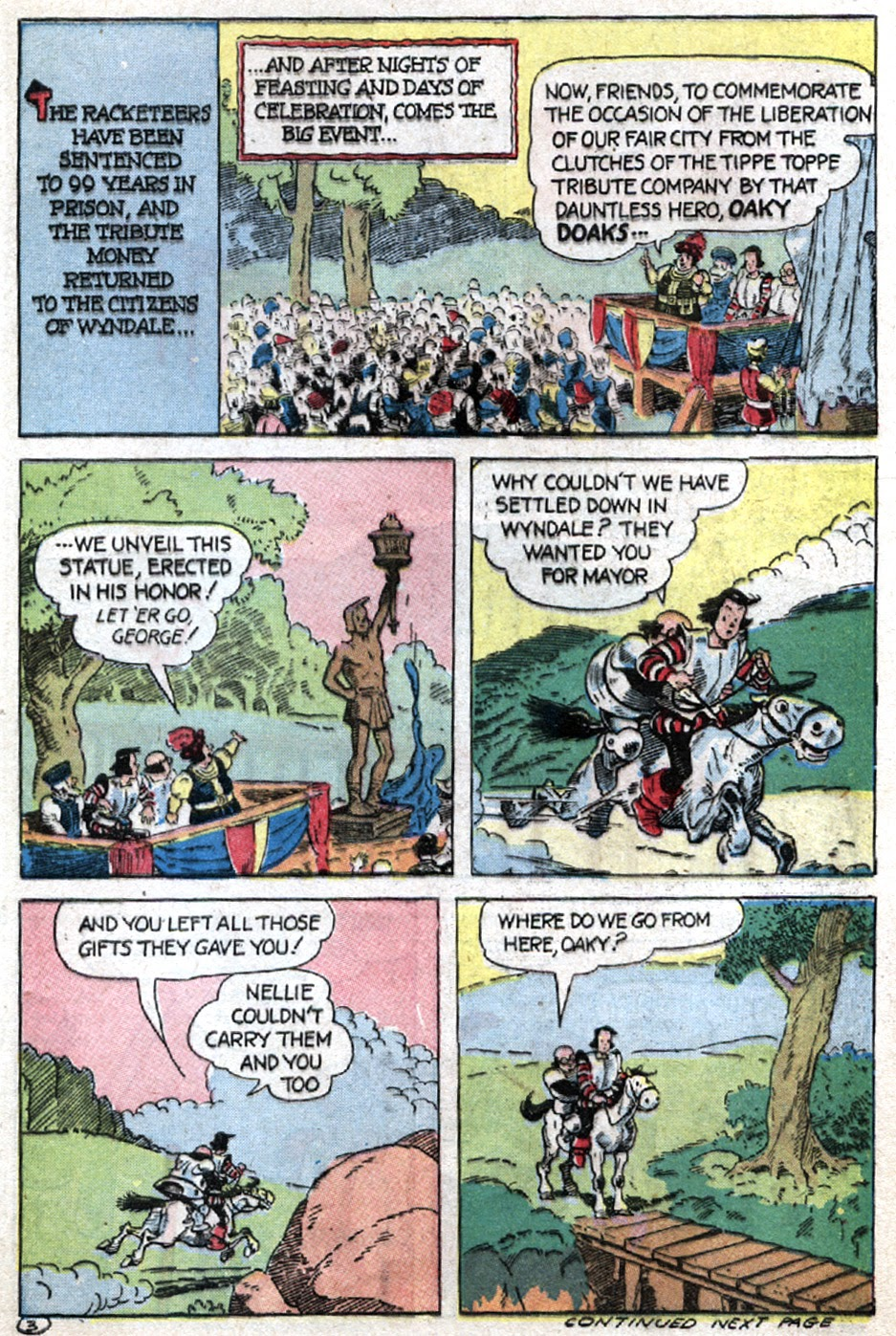 Read online Famous Funnies comic -  Issue #121 - 45