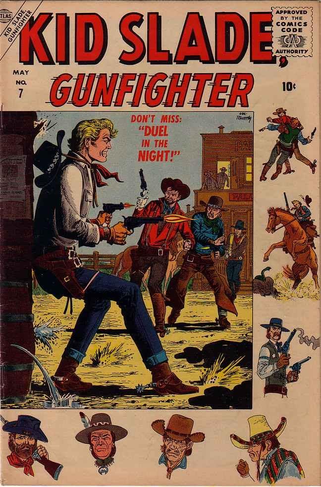 Kid Slade, Gunfighter 7 Page 1