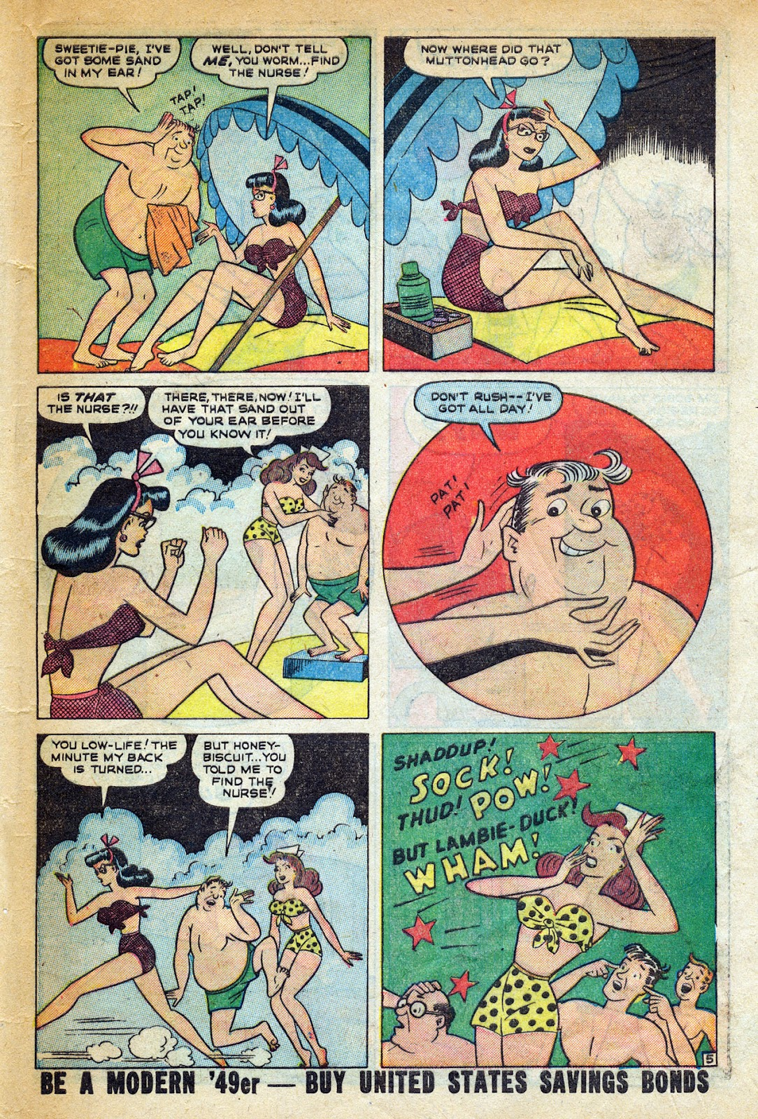 Read online Nellie The Nurse (1945) comic -  Issue #20 - 47