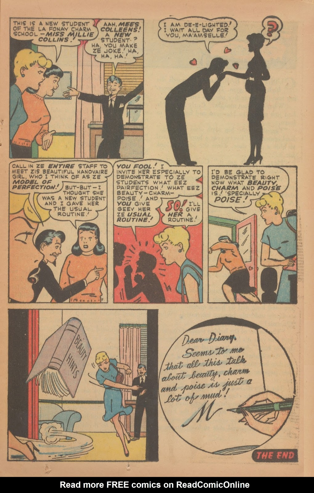 Read online Nellie The Nurse (1945) comic -  Issue #9 - 23