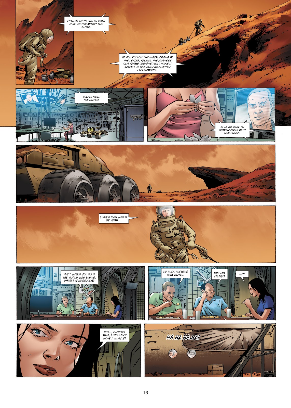 Read online Olympus Mons Vol. 1: Anomaly One comic -  Issue #4 - 16