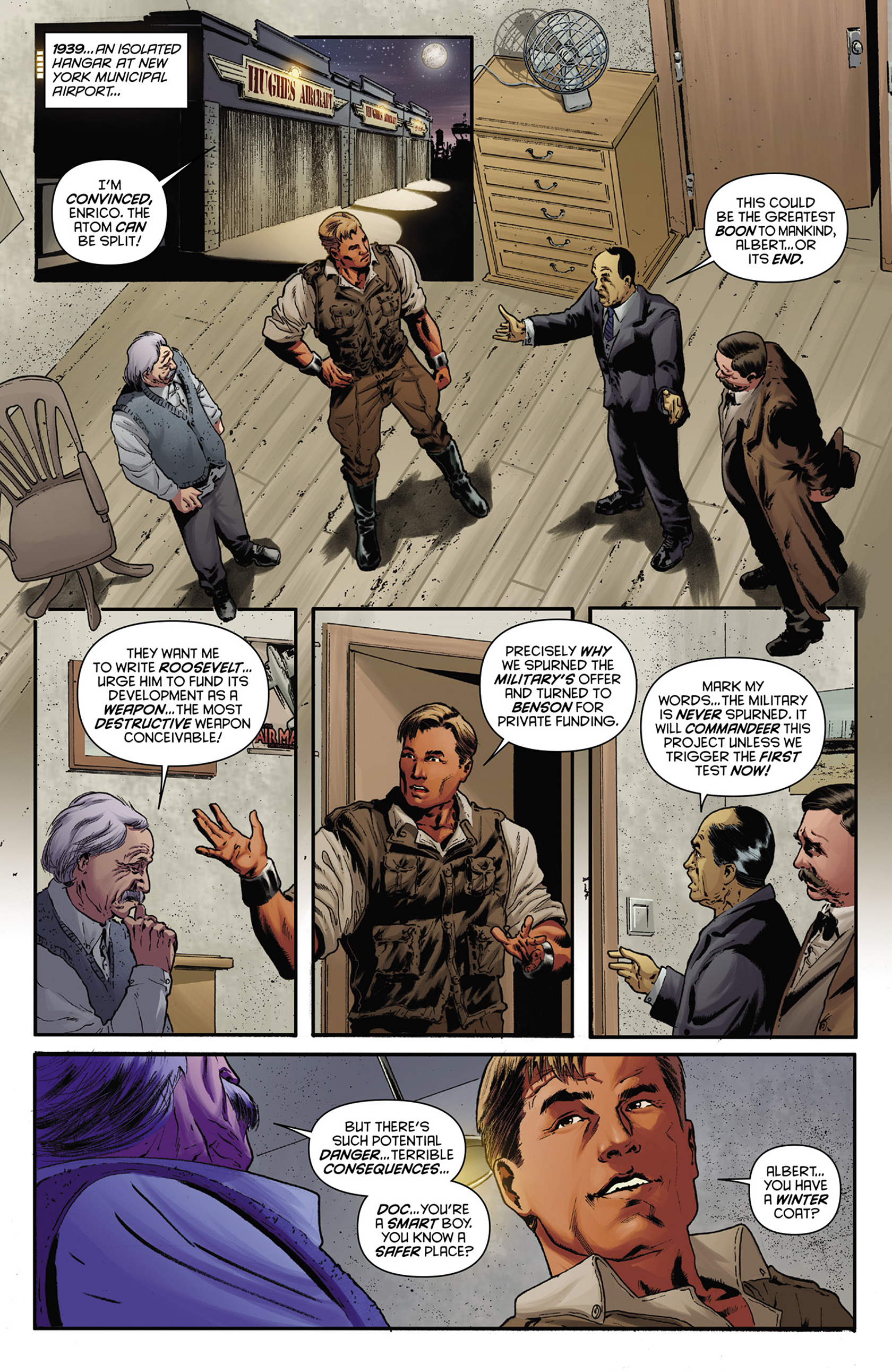 Read online Justice, Inc. comic -  Issue #1 - 10