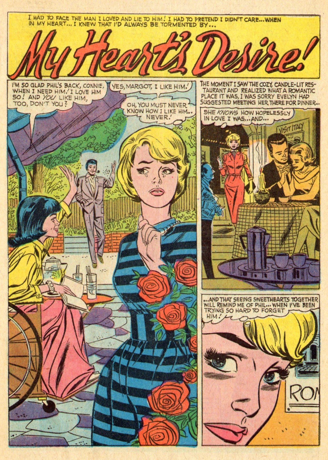 Read online Secret Hearts comic -  Issue #119 - 9