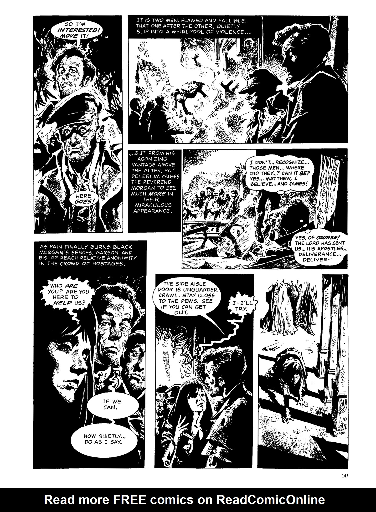 Read online Eerie Archives comic -  Issue # TPB 13 - 148
