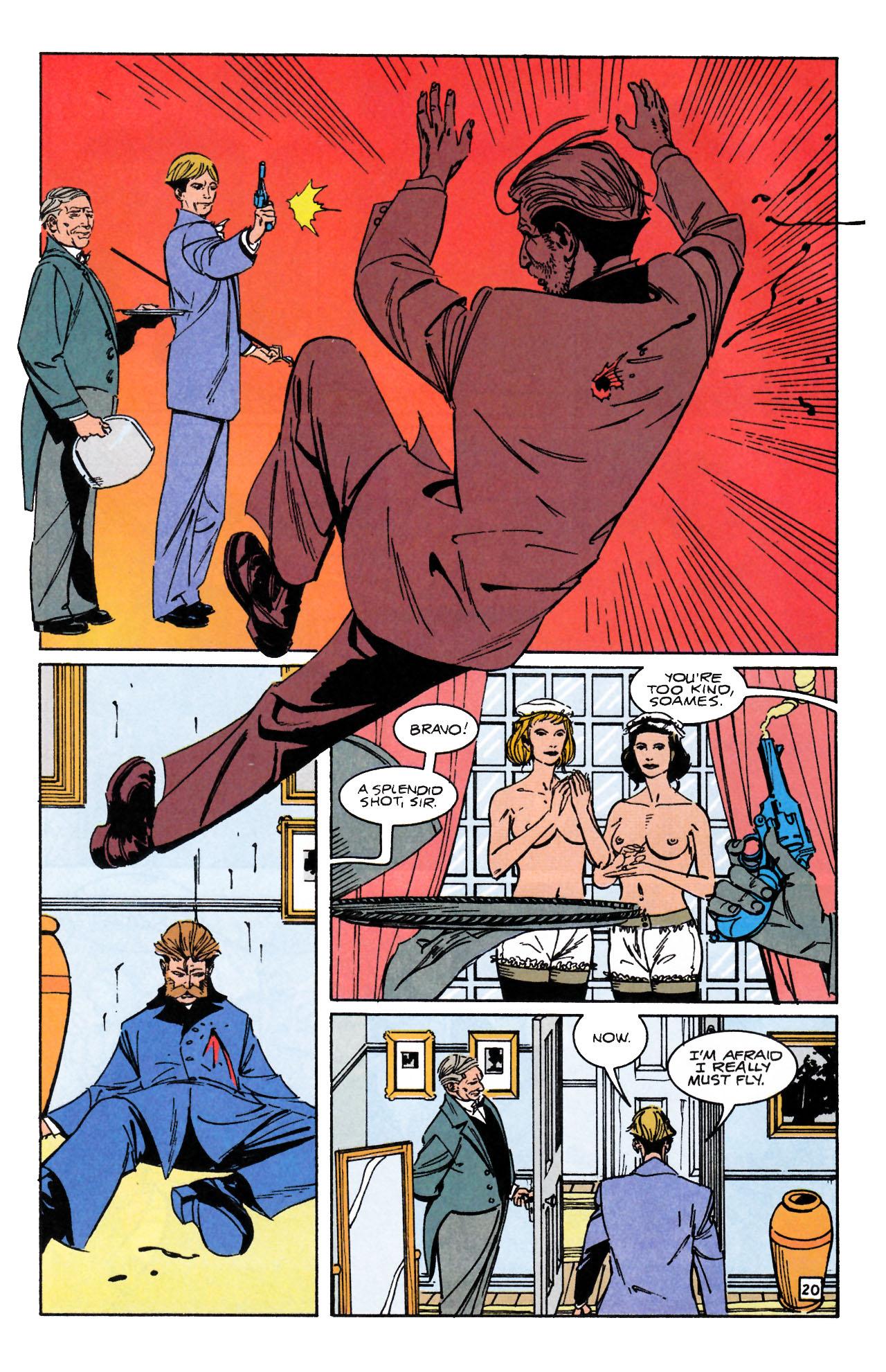 Read online Sebastian O comic -  Issue #1 - 24