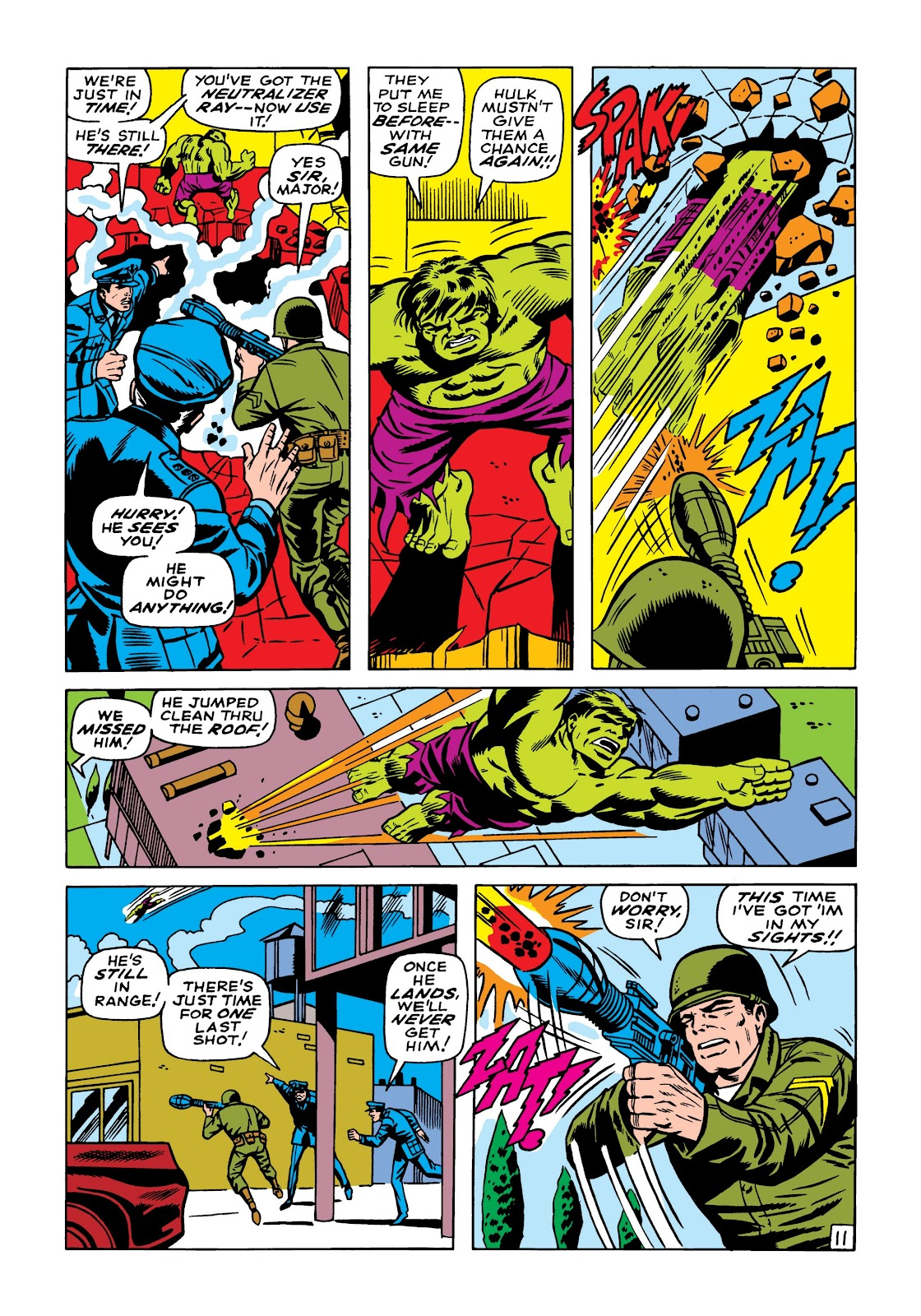 Read online Marvel Masterworks: The Incredible Hulk comic -  Issue # TPB 5 (Part 2) - 1
