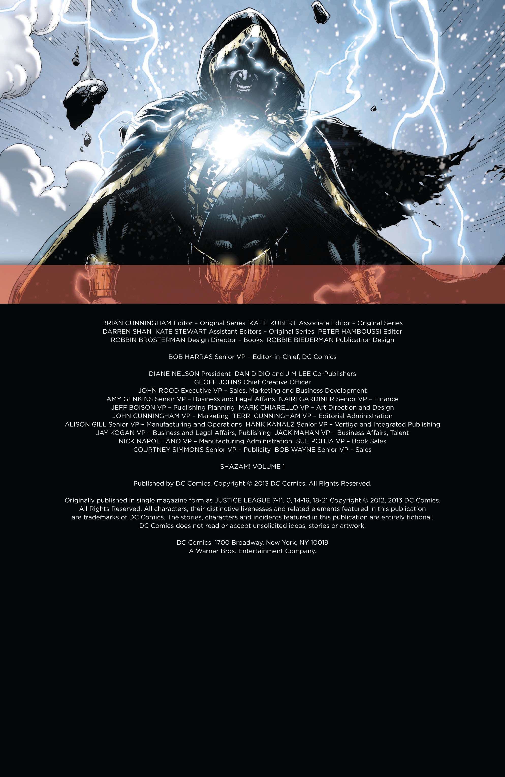 Read online Shazam! (2013) comic -  Issue #1 - 5