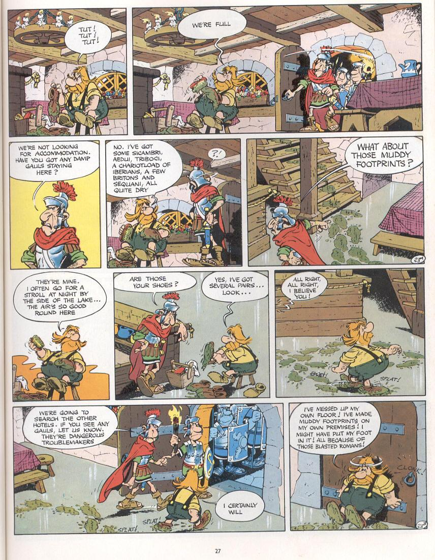 Read online Asterix comic -  Issue #16 - 24