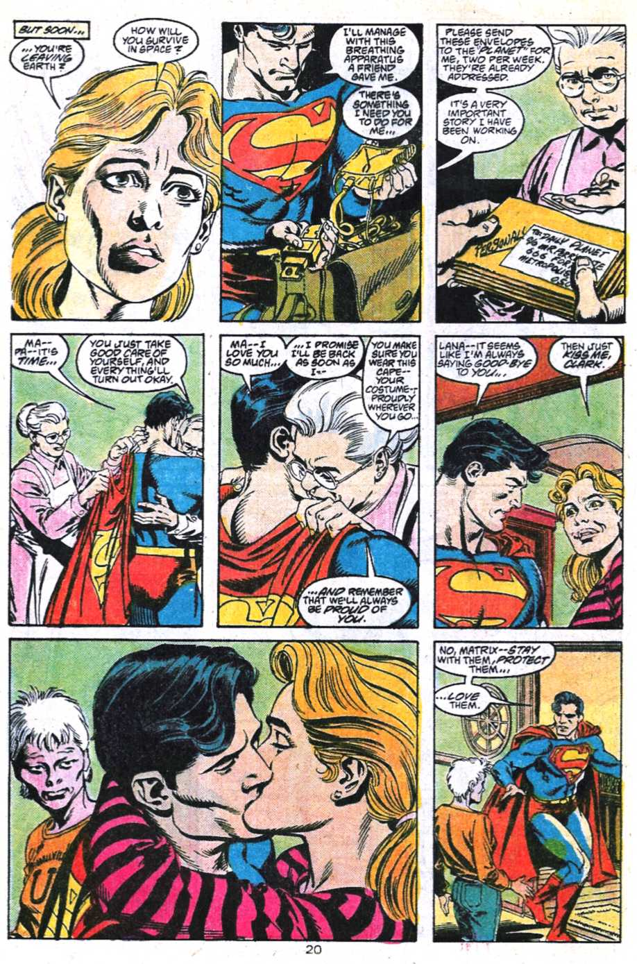 Read online Adventures of Superman (1987) comic -  Issue #450 - 21