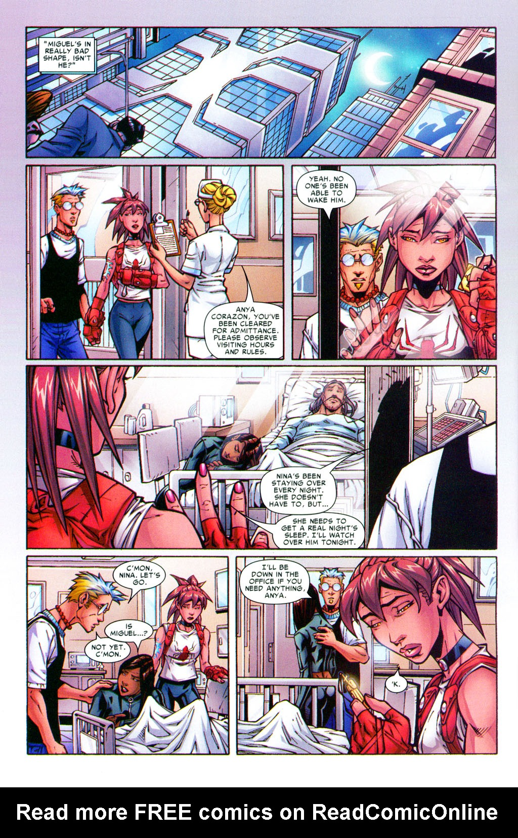 Read online Araña: Heart of the Spider comic -  Issue #5 - 3