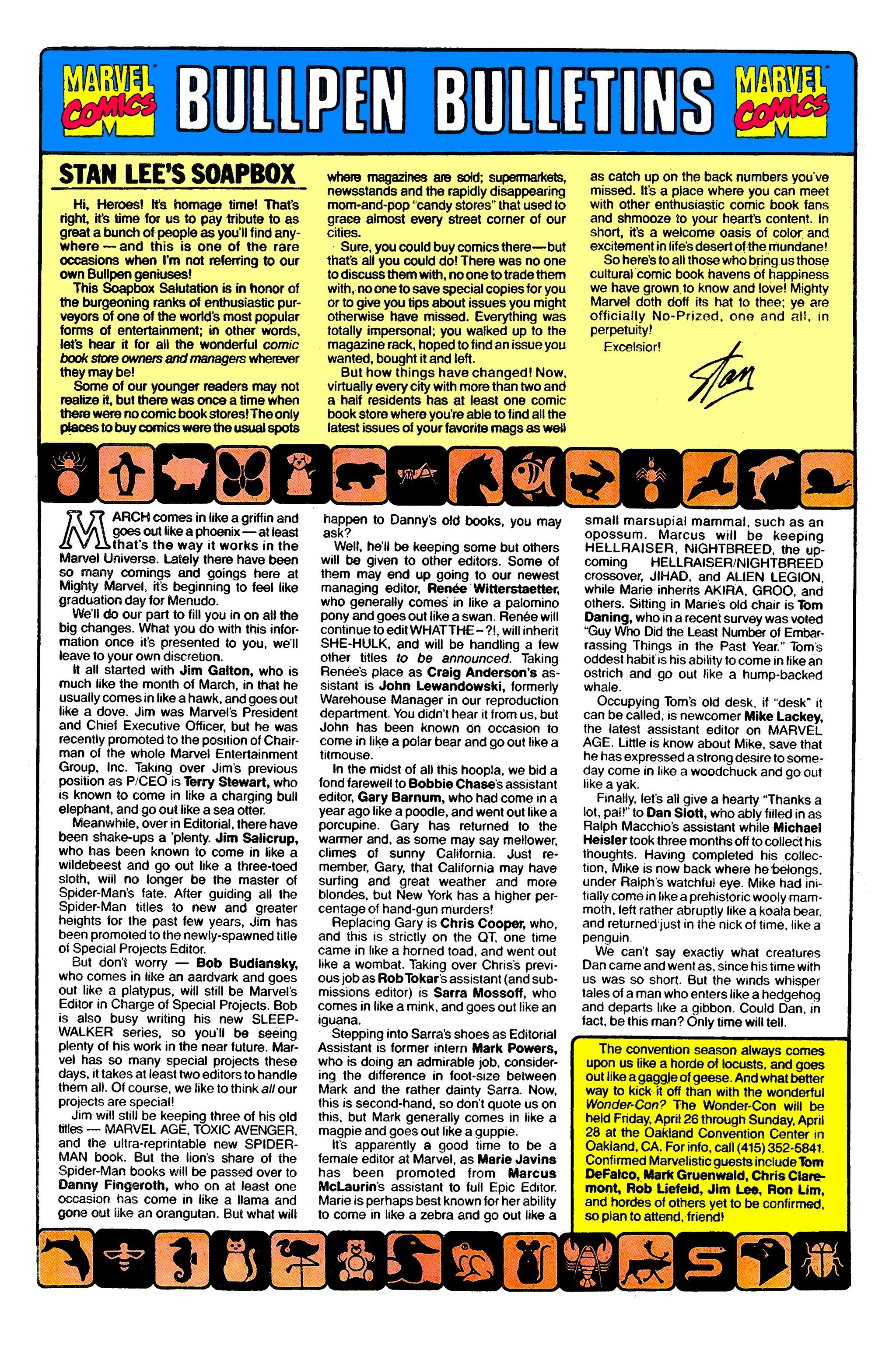 Read online Uncanny X-Men (1963) comic -  Issue #276 - 21