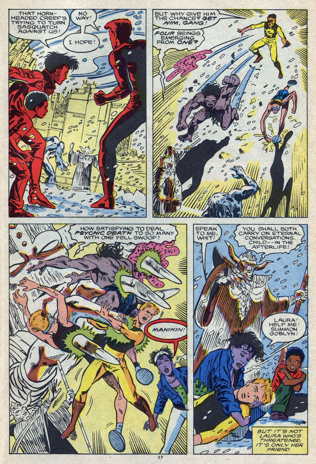 Read online Alpha Flight (1983) comic -  Issue #55 - 24