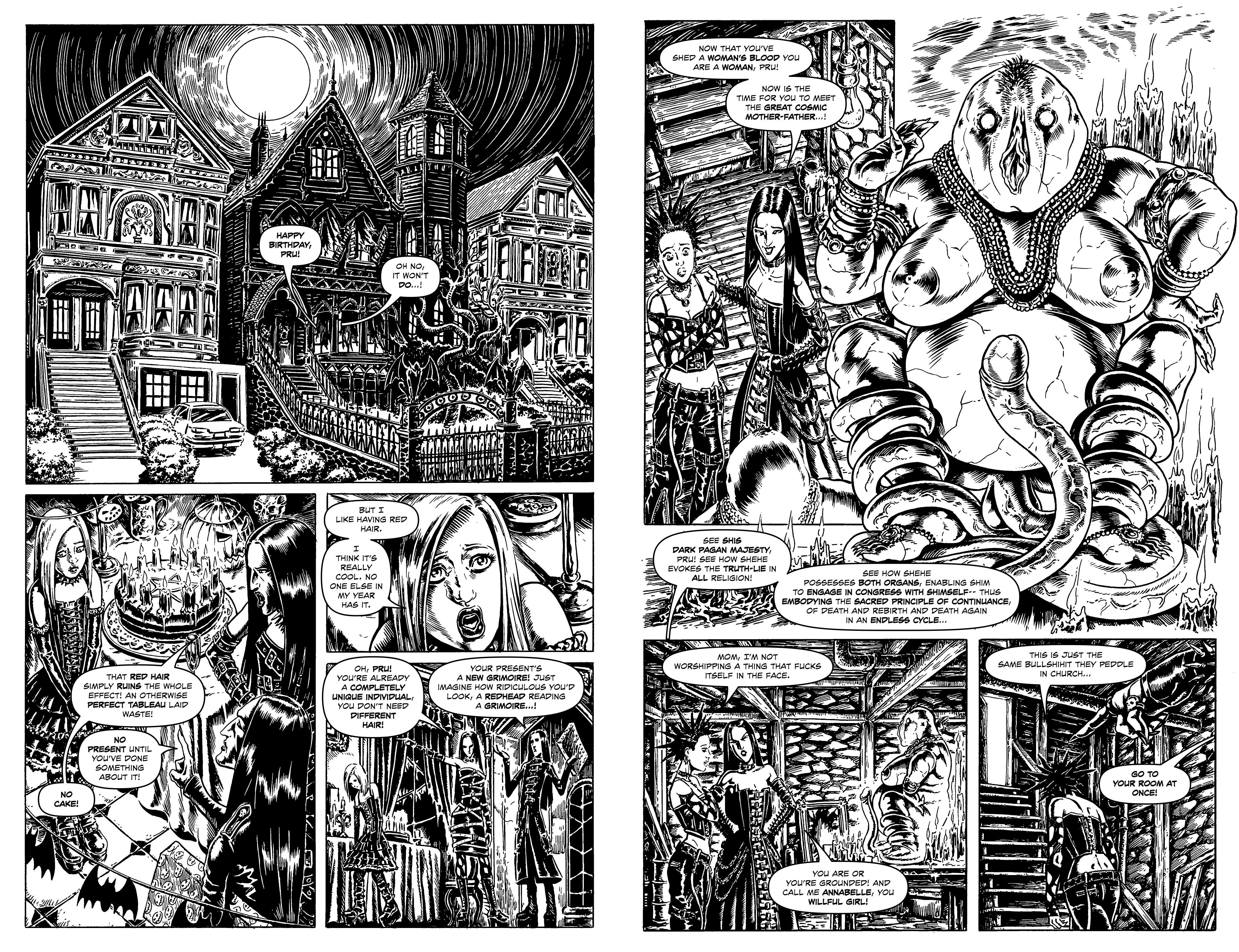 Read online Alan Moore's Cinema Purgatorio comic -  Issue #10 - 13