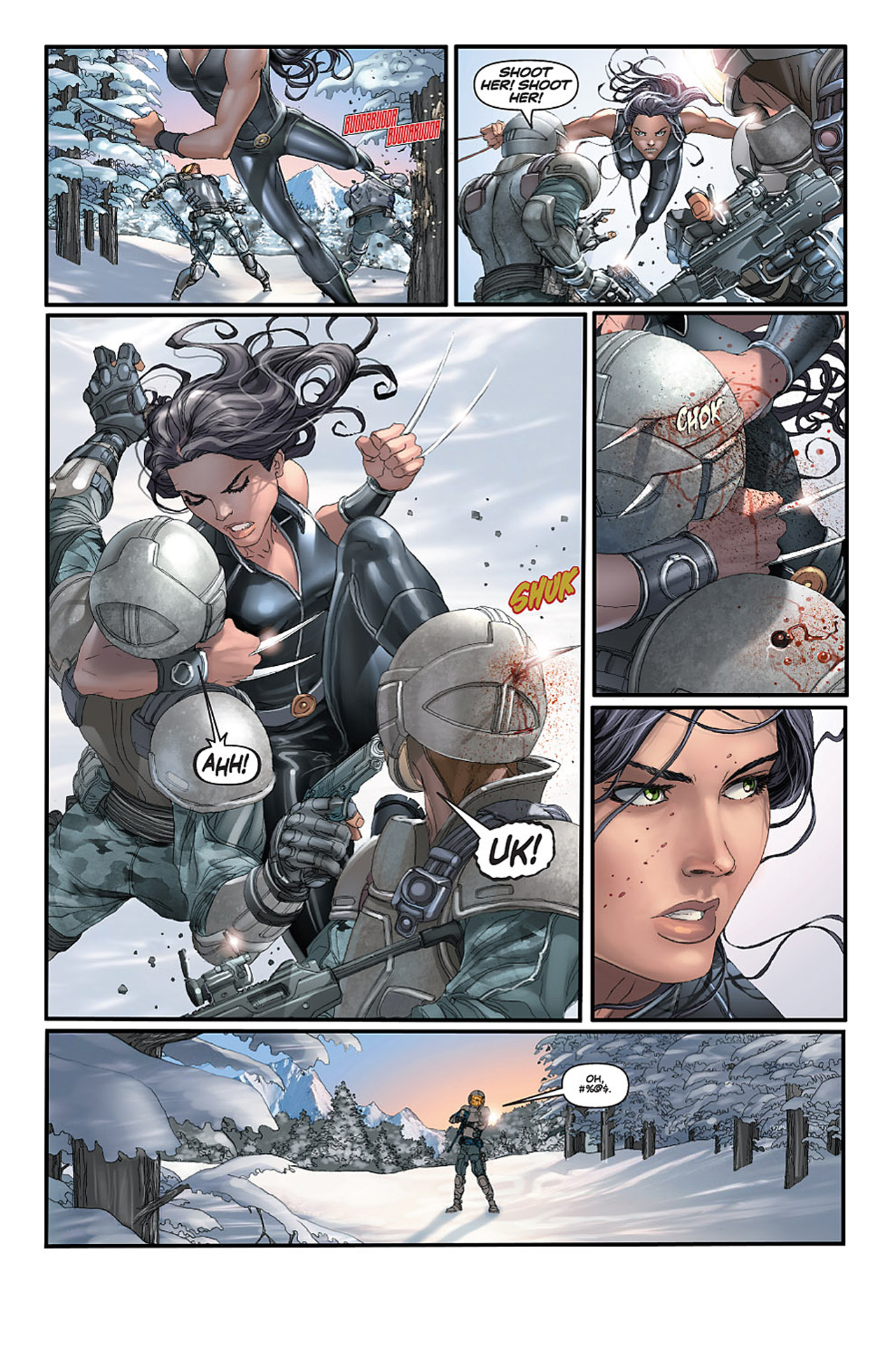 Read online X-23: Target X comic -  Issue #1 - 15