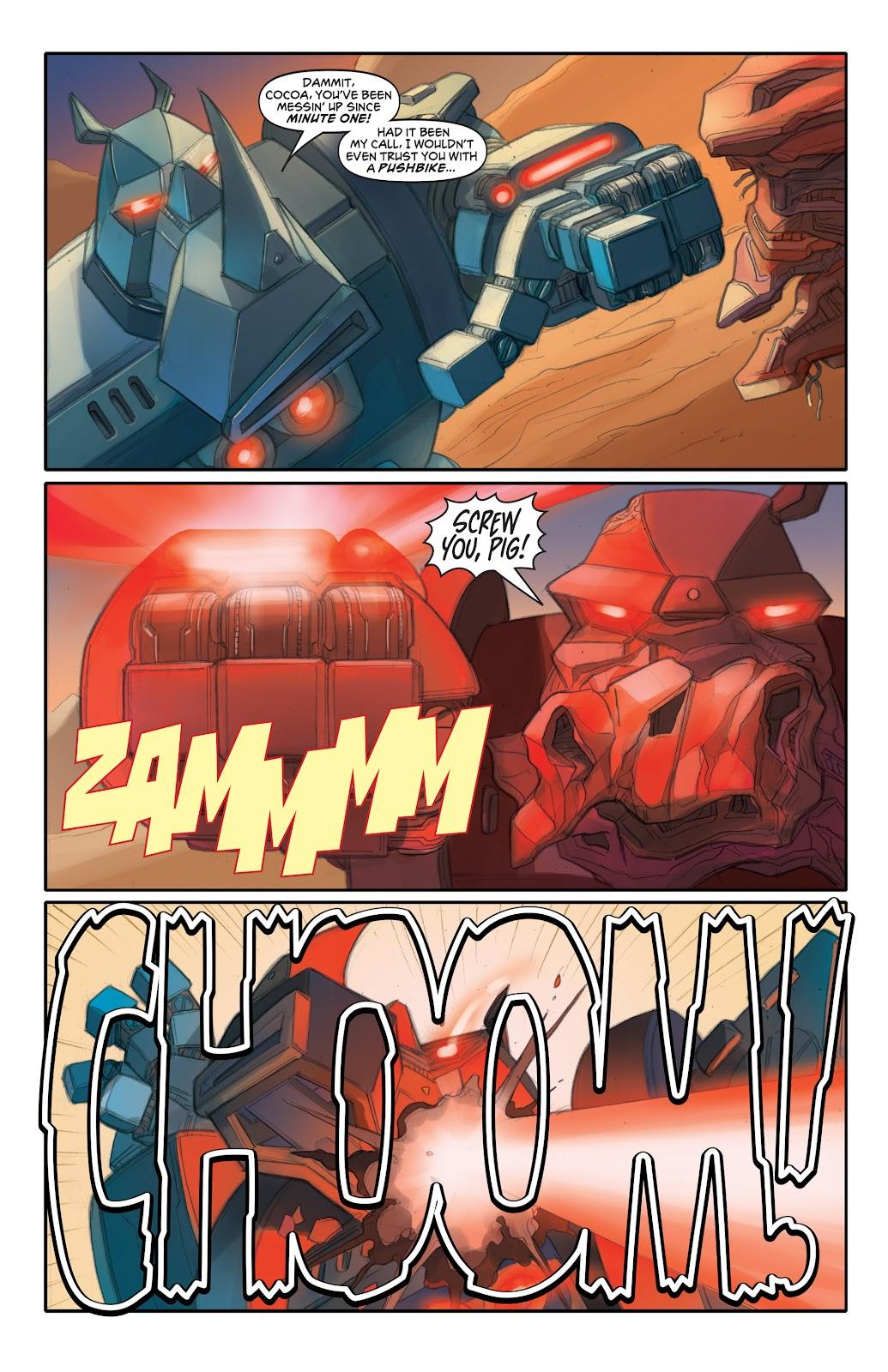 Read online Elephantmen 2261 Season Two: The Pentalion Job comic -  Issue # TPB - 83