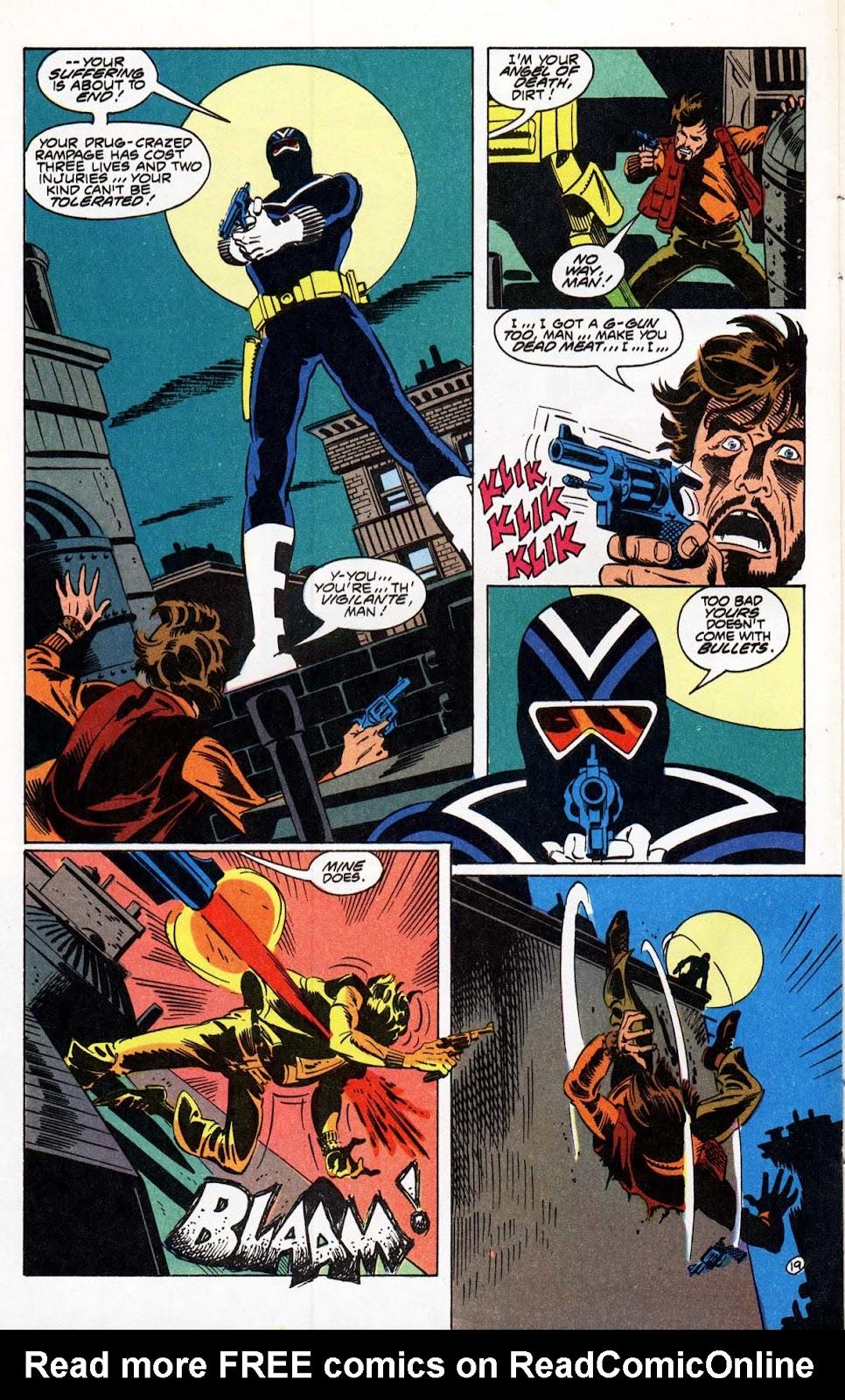 Vigilante (1983) issue 21 - Page 22