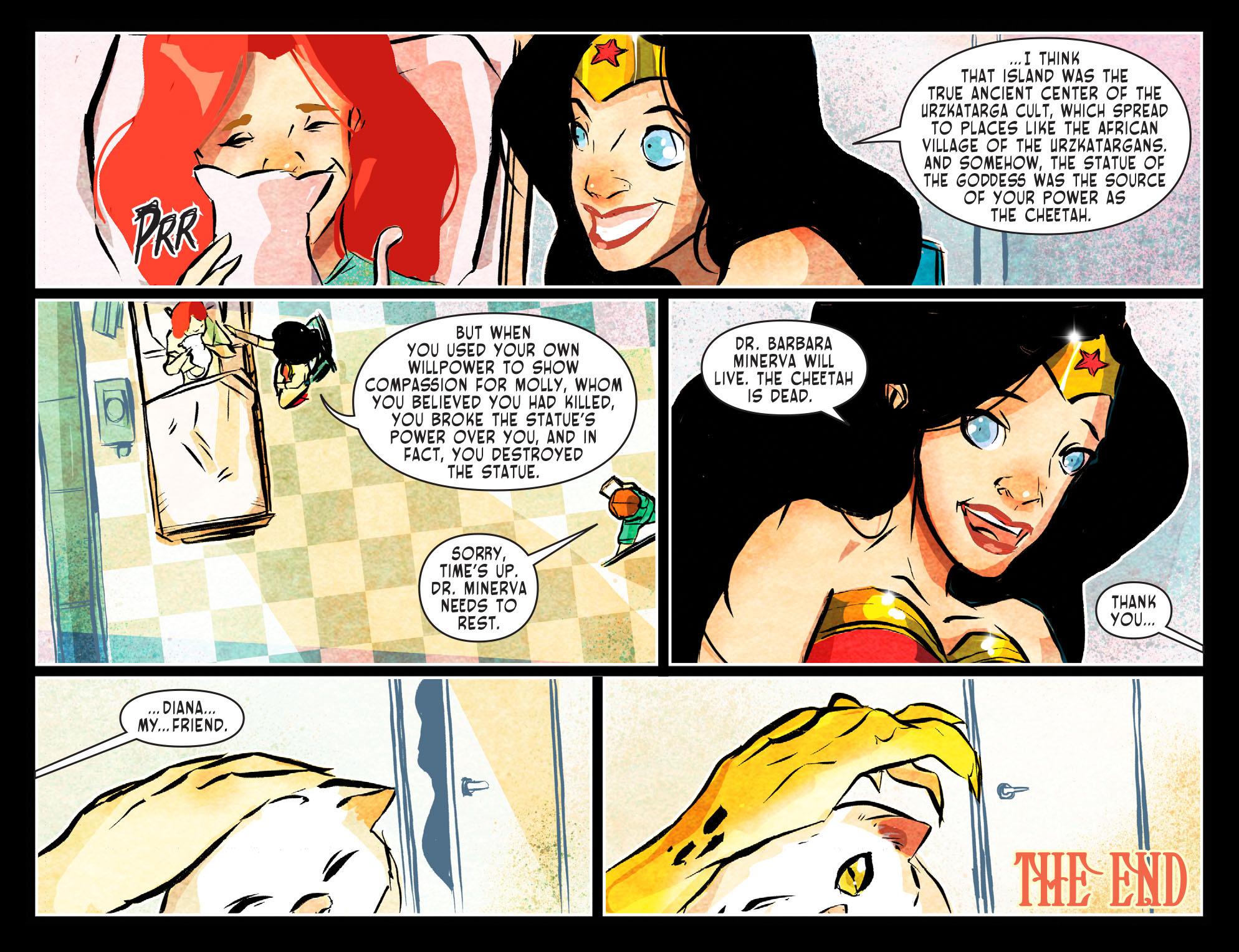 Read online Sensation Comics Featuring Wonder Woman comic -  Issue #51 - 23
