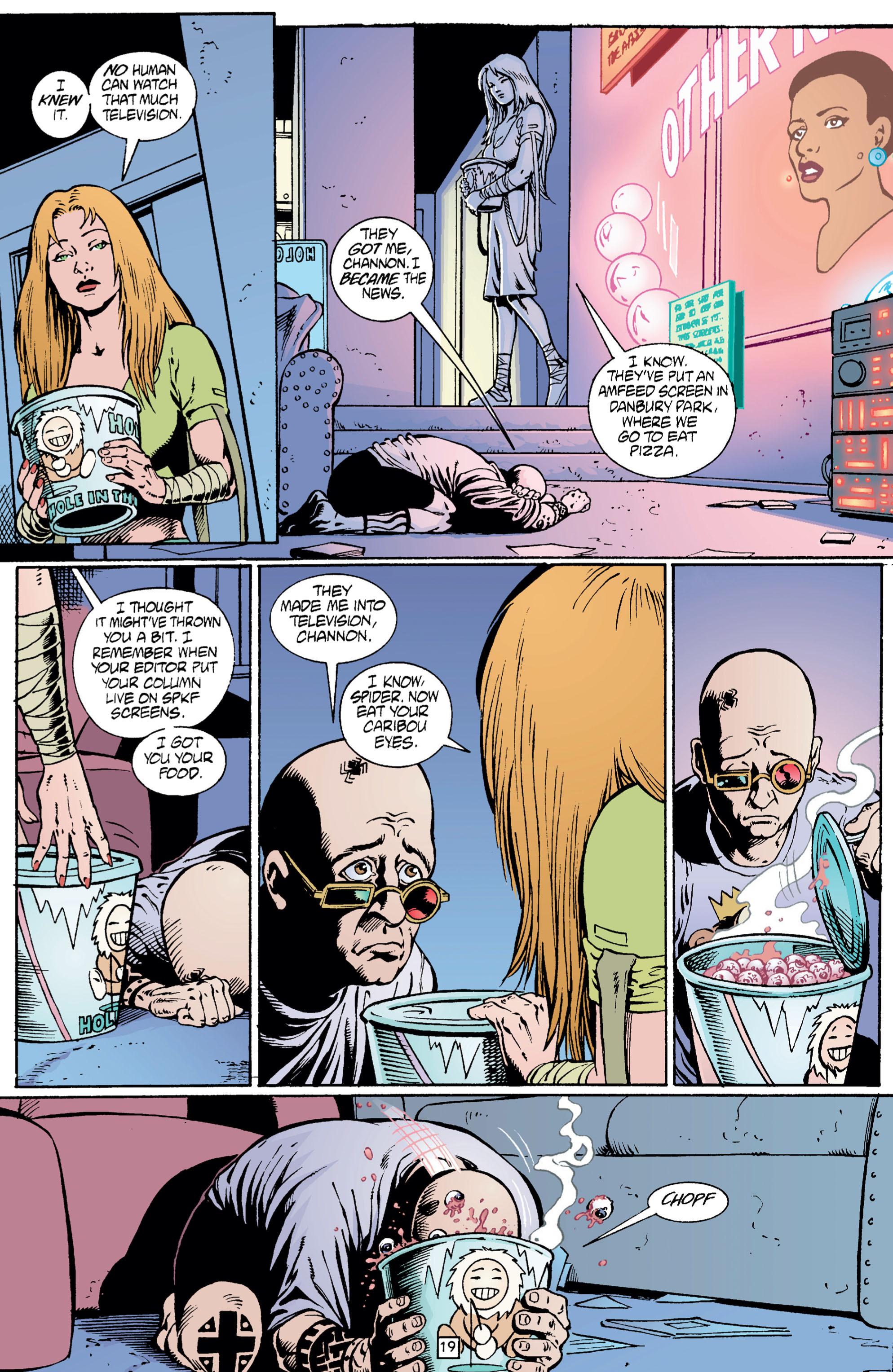 Read online Transmetropolitan comic -  Issue #5 - 20